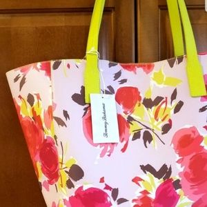 Tommy Bahama Bags - Tommy Bahama Floral Tote Bag & Wristlet NEW